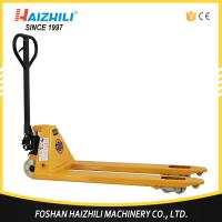 Quality 2.5 ton 685mm fork width hand hydraulic pallet truck trolley made in China wholesale