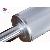 China Coating Anilox Rollers / Steel Flexo Printing Rollers Machinery Parts on sale