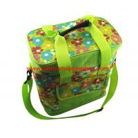 Quality Eco friendly green insulated lunch bag for picnic , lunch shoulder bag wholesale