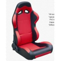 Quality Cars Parts Universal Black And Red Racing Seats Foldable With Safety Belts wholesale