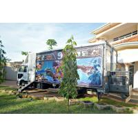 Quality 12 Special Effects Motion 5D Mobile Cinema , Outdoor Mobile Truck Cinema Black 6 Seats wholesale