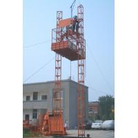 Quality Safety device Electric Construction Hoist Elevator (double cages) / Building Elevator wholesale