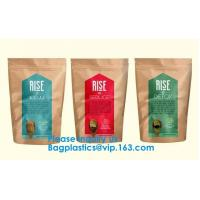 Biodegradable Zipper Water Plastic Drink Pouch Bags Smell Proof Food Packaging