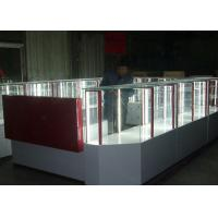 Quality Pre - Assembled Structure Cell Phone Accessories Kiosk / Store Display Fixtures wholesale