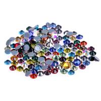 Quality Ss4 / Ss6 MC Glass Rhinestones , Flat Back Glass Crystals Eco - Friendly wholesale