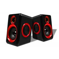 Quality USB Connecting 2.0 PC Speakers For Music / Gaming / Movies Easy Operation wholesale