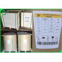 Quality FSC Recycled Bobina De Papel Kraft 110 - 220gsm Moisture Proof For Packaging wholesale