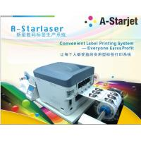 Quality A-Starlaser 1200*2400DPI 4 Color Roll to Roll toner printer for short-run Label wholesale