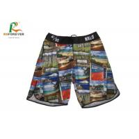 Buy cheap American Size Adult Men Board Shorts 4 Way Stretch Material from wholesalers