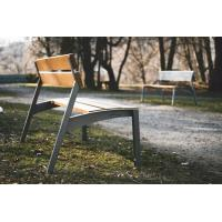 China Heat-prevention WPC park bench/Popular outdoor wpc bench on sale
