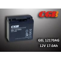 Quality GEL12170AG GEL Technical rechargeable lead acid battery 12vdc 17ah For Solar System wholesale