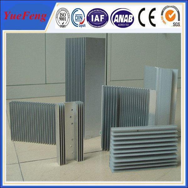 Cheap Anodizing aluminum heat sink/extruded aluminum heat sinks for sale