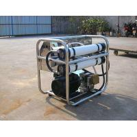 Quality Electric Operation Sea Water Purifier Plant , Saltwater To Drinking Water Machine    wholesale