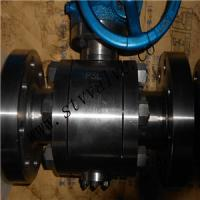 China API6D 3PC full bore forged steel trunnion ball valve on sale