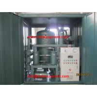 Quality Power Transformer Oil Purifier machine with vacuum system wholesale