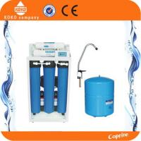 Quality 20 Inch Blue Home Water Filtration System Reverse Osmosis Tank  With Digital Display / Iron Shelf wholesale