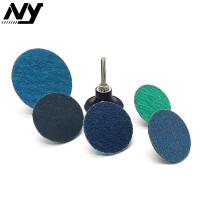 "Quality 2"" Roloc Sanding Discs , TS TR Conncted  Grinding Green Roloc Disc Zirconia Oxide wholesale"
