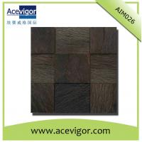 Quality Wood mosaic tile-interior wall decoration wood mosaic tiles wholesale