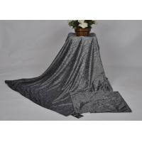 Black grey and taupe micromink sherpa throw , heavyweight double bed mink blanket