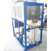 Quality Air Cooled Water Chiller For Dairy Industry With Plate Heat Exchanger 8Kw Cooling Capacity wholesale