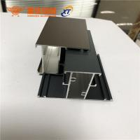 Quality New design different surface treatment aluminum extrusion profiles for windows and doors wholesale