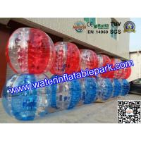 China Water Walking Exercise Inflatable Bumper Ball , Inflatable Water Bumper Soccer Ball on sale