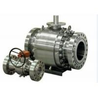 Quality Forged Steel Cast Steel Ball Valve , Trunnion Mounted Ball Valve wholesale
