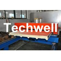 Quality PU Insulated Cold Roll Forming Machine For Making Sandwich Panels wholesale