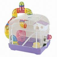 Quality Pet/Hamster Cage, Made of Wire and Plastic, Measures 39.5x29.5x38cm wholesale