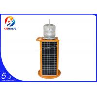 Quality AH-MS/P obstacle free airspace used solar-powered Low intensity aircraft warning light , integrated solar-powered obstru wholesale
