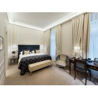 Quality Fashionable Five Star Hotel Furniture , Luxury Upholstery Bedroom Suite Furniture wholesale
