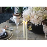 Quality Fashionable Led Taper Candles , Flameless Taper Candles With Remote wholesale