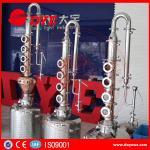 Quality reflux vodka distiller 6plates copper column distill equipment home alcohol distillers wholesale