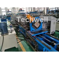Quality 0-15m/Min Forming Speed Hat Channel Cold Forming Machine For Raw Material GI , Carbon Steel wholesale