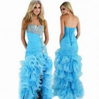 Quality Mermaid Organza 2012 New Arrival Prom Dress wholesale