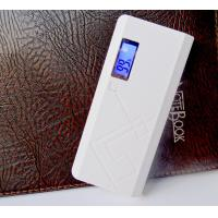 China Flashlight Portable Power Bank External Battery , Portable Power Charger 13000mAH on sale
