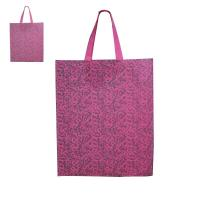 Quality Pink Personalized Eco Friendly fabric grocery  Custom Reusable Shopping Bag     wholesale