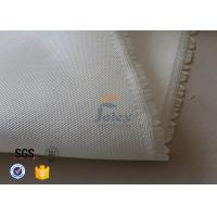 Cheap 0.7mm 600gsm Fire Resistant Fiberglass High Silica Cloth High Purity Hard - for sale