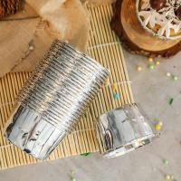 China Double Sided Muffin Paper Cups , Foil Cupcake Liners Oil Resistance on sale