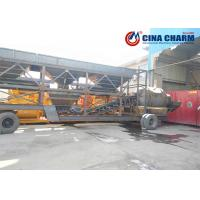 China 35m3/h ready mixed cement machine mobile concrete batching plant/YHZS35 with JS750 concrete mixer on sale