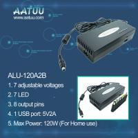 China Almighty 120W Laptop AC Power Adaptor with 5V 2A USB -ALU-120A2B on sale