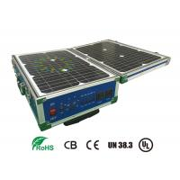 Quality Lifepo4 12V 60AH Storage Battery Systems With Solar Panel For Portable UPS wholesale
