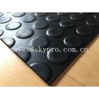 Quality Heavy duty Flooring / gasket 2.5mm - 20mm Rubber Sheet Roll Smooth / embossed Surface wholesale