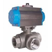 Quality WCB LCB CF8 CF8M Three Way Ball Valve PN 20-420 Class 150-1500 Electric wholesale