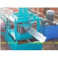 Quality Durable Seamless Gutter Machine , Water Gutter Making Equipment Former Line wholesale