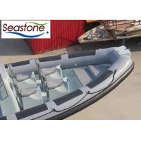China Hypalon Rigid Hull Inflatable Tender / Small Inflatable Boats With Engine 750cm on sale