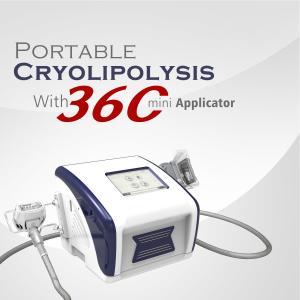 China Home Body Slimming 100 Nm Cryolipolysis Fat Freezing Machine on sale