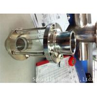 Quality ASTM A270 Sanitary Stainless Steel 304 Fittings Sight Glass For Chemical Industries wholesale