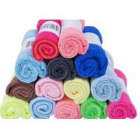 China Sun Shine 16*16 inch microfiber terry towel with paper package for car cleanning on sale