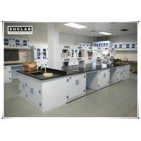 Buy cheap Waterproof PP Lab Bench With Reagent Shelves In Chemistry Laboratory from wholesalers